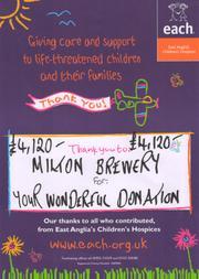 Receipt from Milton Children's Hospice in 2011