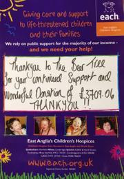 Receipt from Milton Children's Hospice in 2013